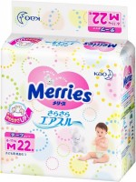 Подгузники Merries Diapers M / 22 pcs