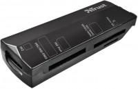 Картридер/USB-хаб Trust Stello Mini