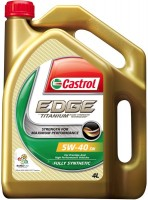 Моторное масло Castrol Edge Titanium 5W-40 4L