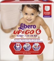 Подгузники Libero Up and Go 6 / 62 pcs