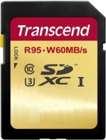 Карта памяти Transcend Ultimate 633x SDXC UHS-I U3 64Gb