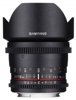 Объектив Samyang 10mm T3.1 ED AS NCS CS VDSLR