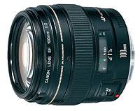 Фото - Объектив Canon EF 100mm f/2.0 USM