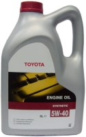 Моторное масло Toyota Engine Oil Synthetic 5W-40 5L