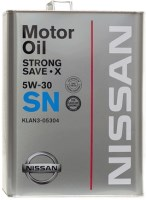 Моторное масло Nissan Strong Save-X 5W-30 4L