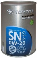 Моторное масло Toyota Castle Motor Oil 0W-20 SN 1L