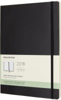 Ежедневник Moleskine Weekly Planner Soft Large Black