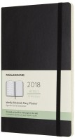 Ежедневник Moleskine Weekly Planner Soft Black