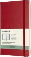 Ежедневник Moleskine Weekly Planner Red