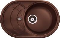 Кухонная мойка Longran Eclipse ECG 780.500