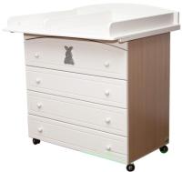 Пеленальный столик MyBaby Glamour Bunny