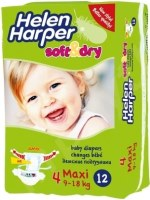 Подгузники Helen Harper Soft and Dry 4 / 12 pcs
