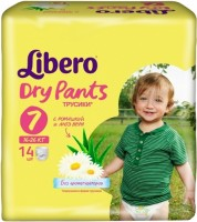 Подгузники Libero Dry Pants 7 / 14 pcs
