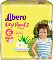 Подгузники Libero Dry Pants 6 / 16 pcs