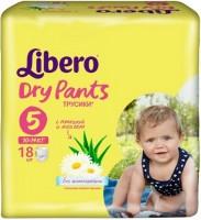 Подгузники Libero Dry Pants 5 / 18 pcs