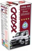 Моторное масло XADO Silver 10W-40 SG/CF-4 5L