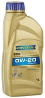 Моторное масло Ravenol Eco Synth ECS 0W-20 1L