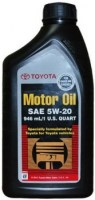 Моторное масло Toyota Motor Oil 5W-20 USA 1L