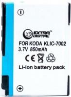 Фото - Аккумулятор для камеры Extra Digital Kodak KLIC-7002