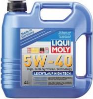 Фото - Моторное масло Liqui Moly Leichtlauf High Tech 5W-40 4L