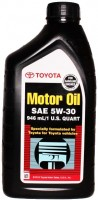 Фото - Моторное масло Toyota Motor Oil 5W-30 SN/SM 1L
