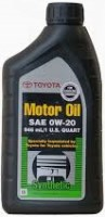 Моторное масло Toyota Motor Oil 0W-20 SN 1L