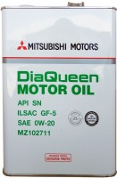 Моторное масло Mitsubishi DiaQueen 0W-20 SN/GF-5 4L
