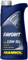 Моторное масло Mannol Favorit 15W-50 1L