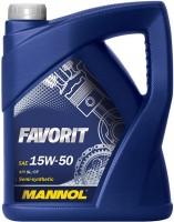 Моторное масло Mannol Favorit 15W-50 5L