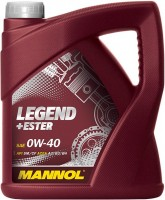 Моторное масло Mannol Legend Ester 0W-40 4L