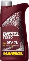 Моторное масло Mannol Diesel Turbo 5W-40 1L