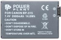 Фото - Аккумулятор для камеры Power Plant Canon BP-315