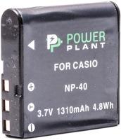 Фото - Аккумулятор для камеры Power Plant Casio NP-40