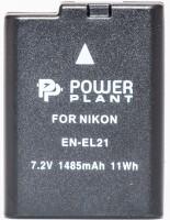 Фото - Аккумулятор для камеры Power Plant Nikon EN-EL21