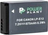 Фото - Аккумулятор для камеры Power Plant Canon LP-E12