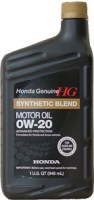 Моторное масло Honda  Synthetic Blend 0W-20 1L
