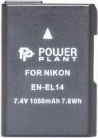 Фото - Аккумулятор для камеры Power Plant Nikon EN-EL14