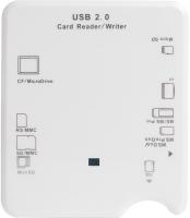 Картридер/USB-хаб Power Plant KD00002045