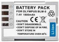 Фото - Аккумулятор для камеры Power Plant Olympus PS-BLM5