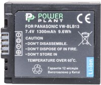 Фото - Аккумулятор для камеры Power Plant Panasonic DMW-BLB13
