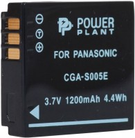 Фото - Аккумулятор для камеры Power Plant Panasonic CGA-S005E