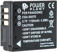 Фото - Аккумулятор для камеры Power Plant Panasonic CGA-S007