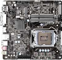 Материнская плата ASRock H81TM-ITX