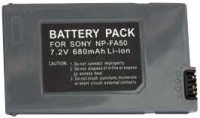 Фото - Аккумулятор для камеры Power Plant Sony NP-FA50