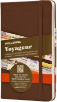 Блокнот Moleskine  Voyageur Notebook Brown