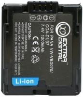 Аккумулятор для камеры Extra Digital Panasonic VW-VBD070