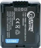 Аккумулятор для камеры Extra Digital Panasonic CGA-DU14