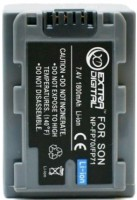Фото - Аккумулятор для камеры Extra Digital Sony NP-FP70