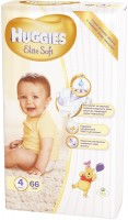 Подгузники Huggies Elite Soft 4 / 66 pcs