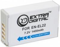 Фото - Аккумулятор для камеры Extra Digital Nikon EN-EL22